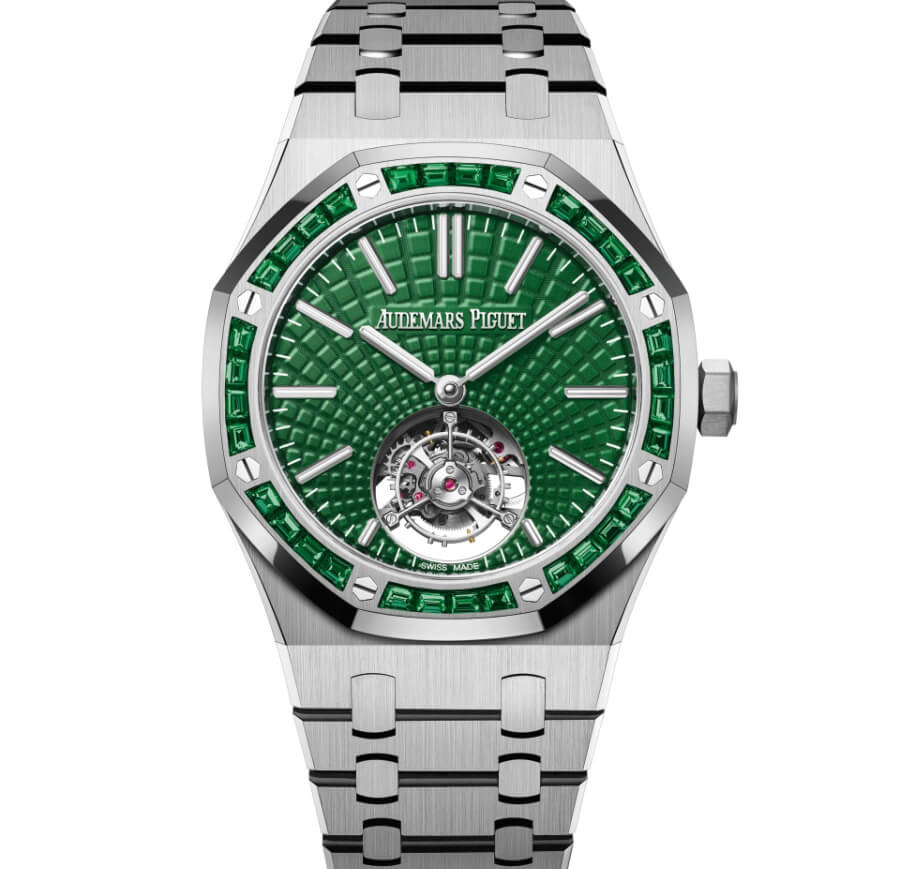 Audemars Green Dial Tourbillon