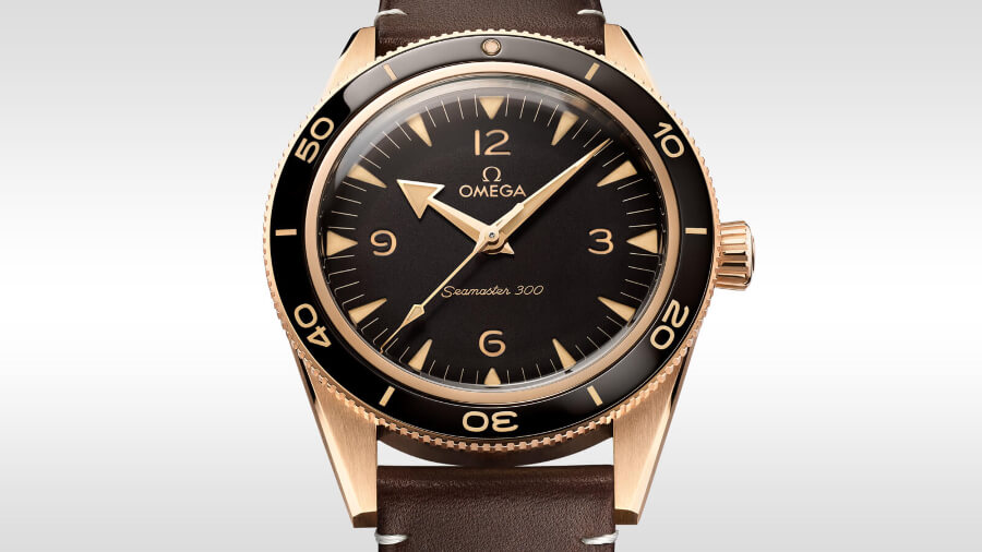 The New Omega Seamaster 300 Bronze Gold