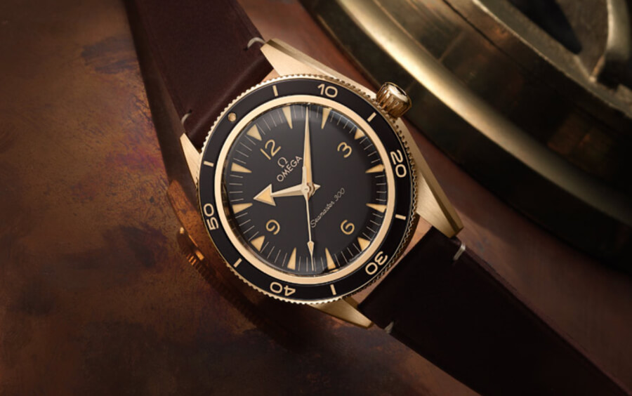 Omega Seamaster 300 Bronze Gold Review