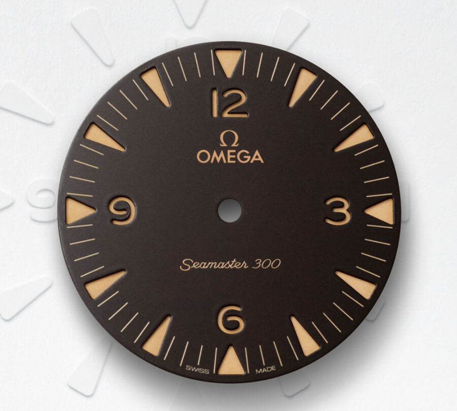 Omega Seamaster 300 Bronze Gold Dial