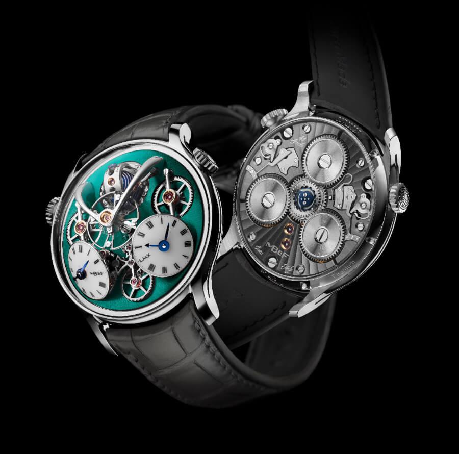 The ew MB&F LMX Watch