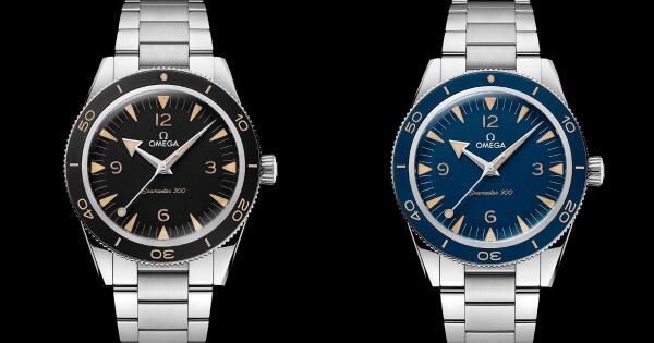 The New Omega Seamaster 300 Master Chronometer