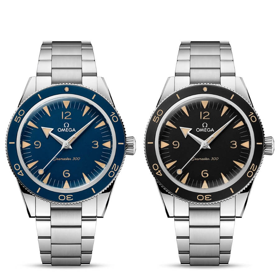 The New Omega Seamaster 300 Co-Axial Master Chronometer 41 mm