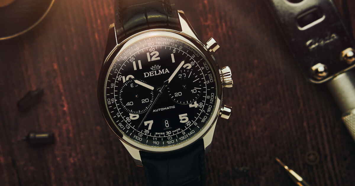 Introducing The Delma Heritage Chronograph LE (Price, Pictures and Specifications)