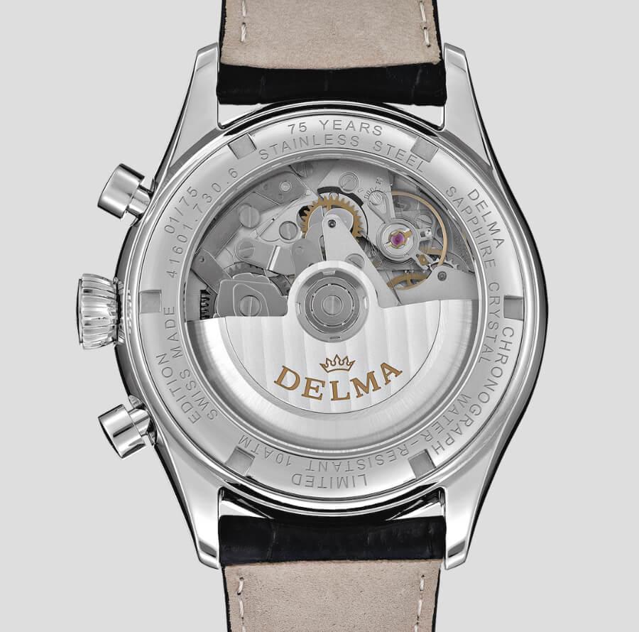 Delma Heritage Chronograph LE In House Movement