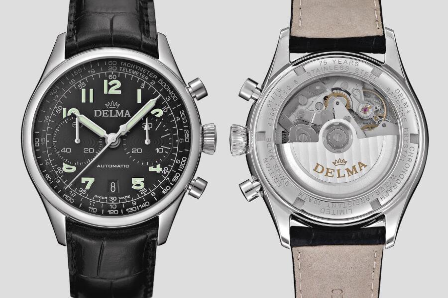 The New Delma Heritage Chronograph LE