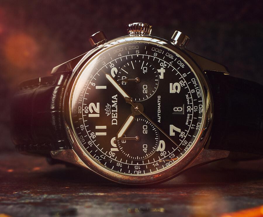 Delma Heritage Chronograph LE