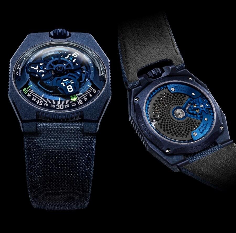 """The New Urwerk Ur-100v """"Blue Planet"""" Watch"""
