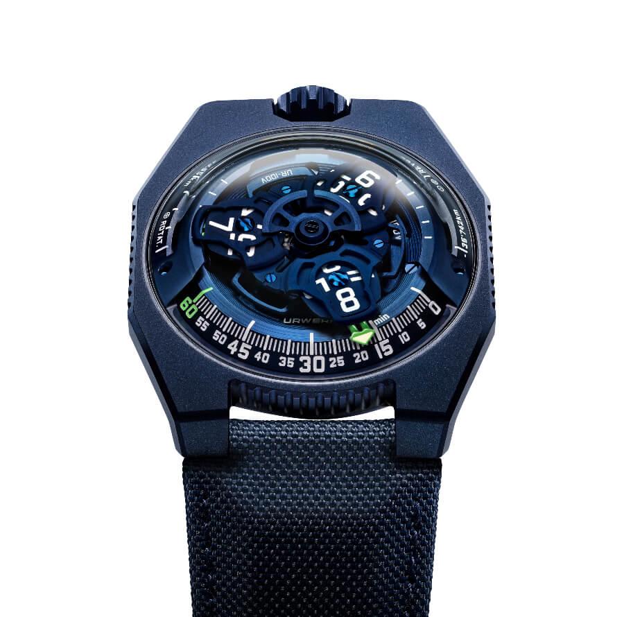 Urwerk Blue dial Watch