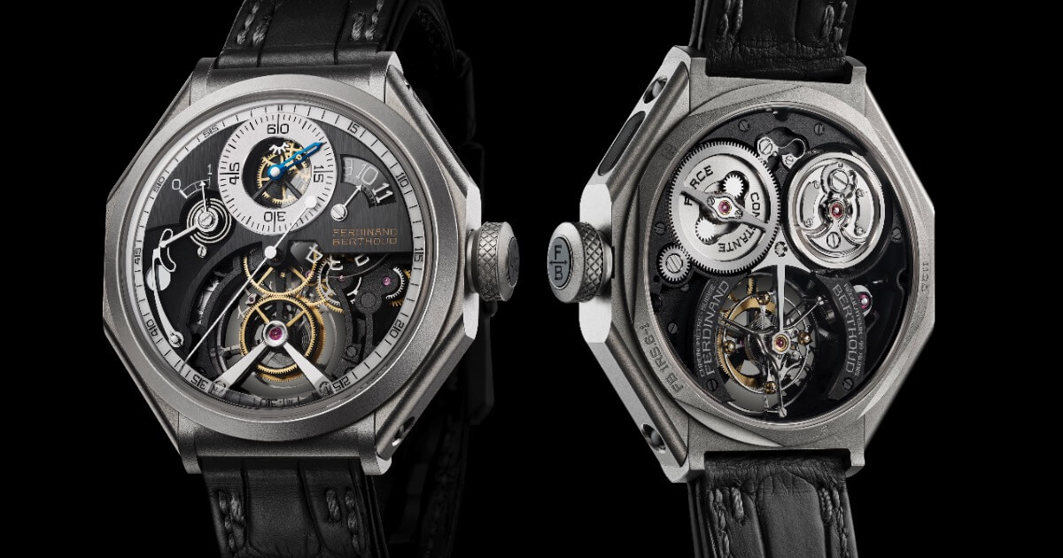 The New Ferdinand Berthoud Régulateur Squelette FB RS (Price, Pictures and Specifications)