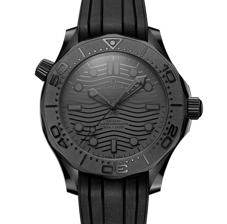 Omega Seamaster Diver 300M Black Black Ref. 210.92.44.20.01.003