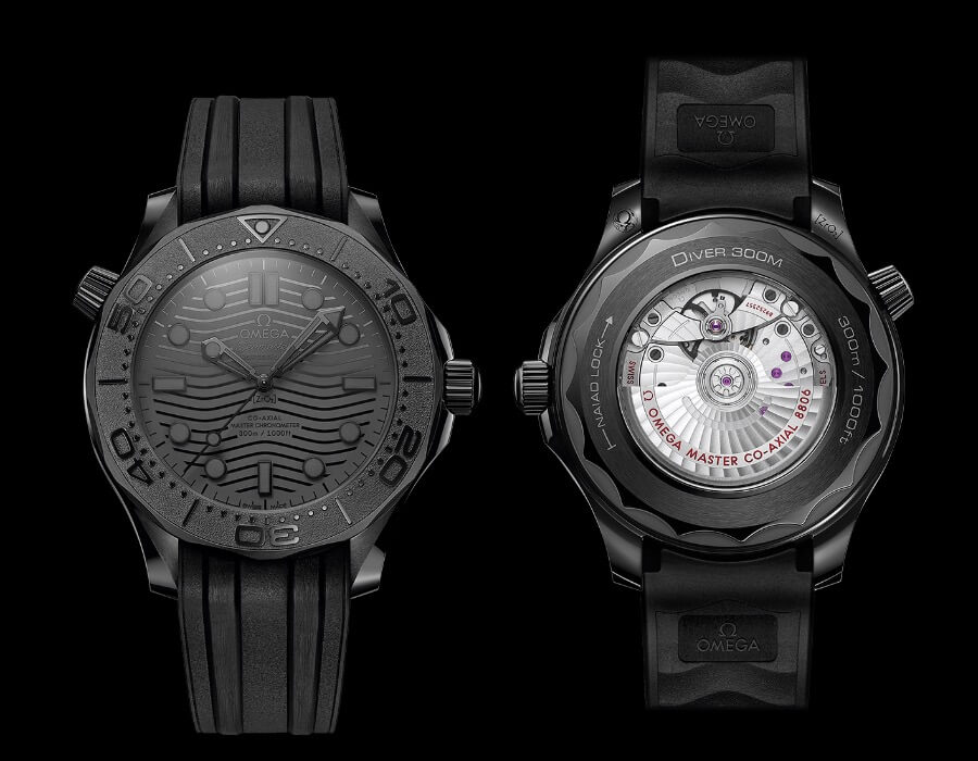 Omega Seamaster Diver 300M Black Black Watch Review