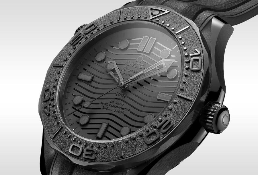 Omega Seamaster Diver 300M Black Black Watch