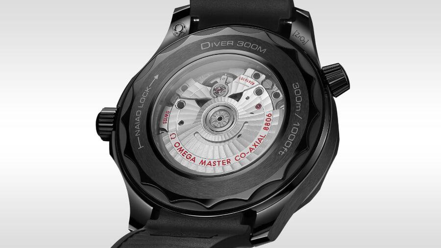 Omega Seamaster Diver 300M Black Black Ref. 210.92.44.20.01.003 Case Back
