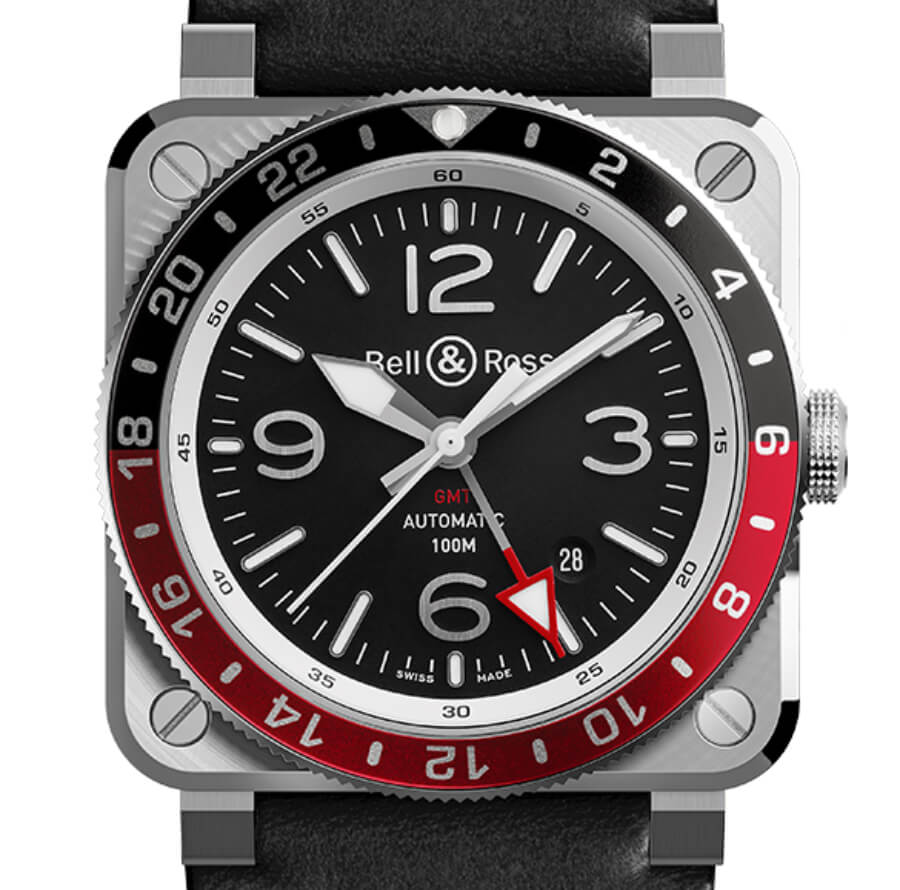 Bell & Ross BR 03-93 GMT Ref. BR0393-BL-ST/SCA