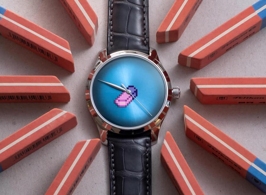 Review H. Moser & Cie. Endeavour Centre Seconds Concept X Seconde/Seconde/