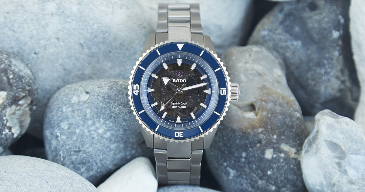 Rado Captain Cook High-Tech Ceramic (Price, Pictures and Specifications)