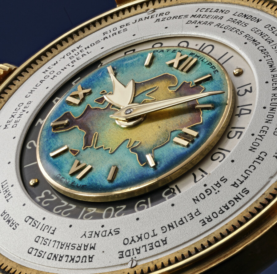 Patek Philippe reference 2523 Dial