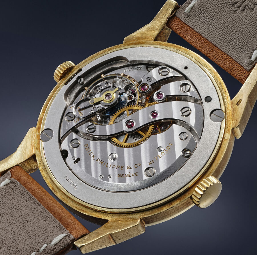 Patek Philippe Reference 2523 With Eurasian Dial Movement