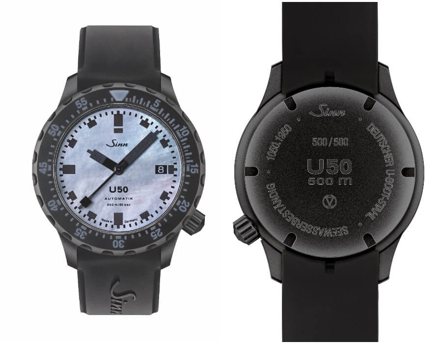 Dive Watches Sinn U50 S Mother-Of-Pearl S