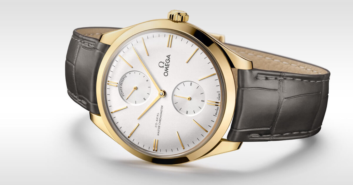 Omega De Ville Trésor Small Seconds and Power Reserve (Price, Pictures and Specifications)