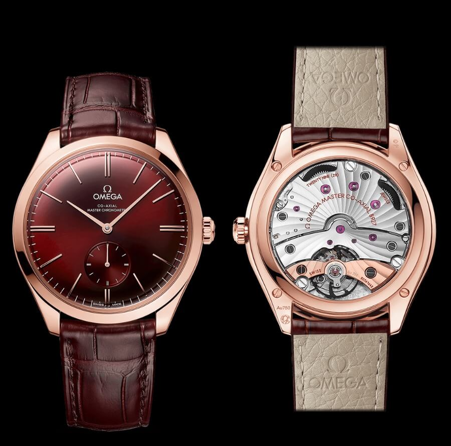Omega De Ville Trésor Small Seconds Watch