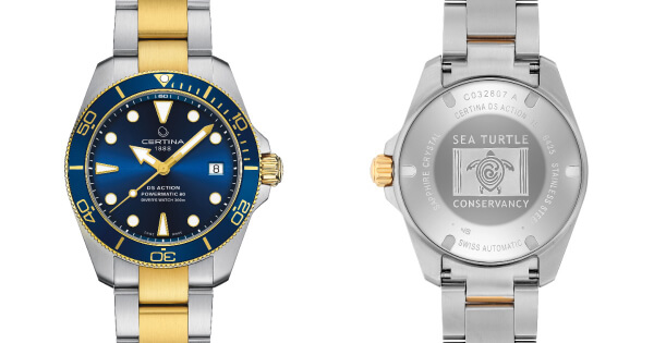 Certina DS Action Diver Sea Turtle Conservancy (Price, Pictures and Specifications)