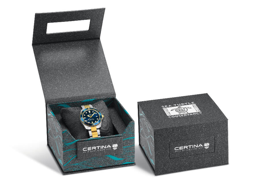 Certina DS Action Diver Sea Turtle Conservancy Full Box For Sale