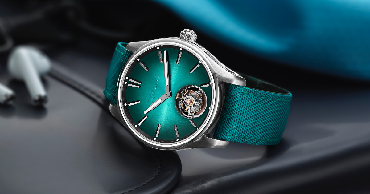The New H. Moser & Cie. The Pioneer Tourbillon Mega Cool Watch (Price, pictures and Specifications)