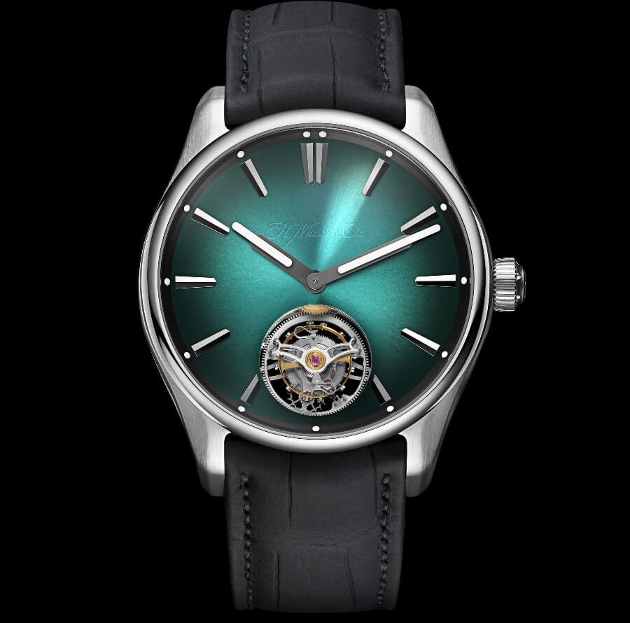 H. Moser & Cie. The Pioneer Tourbillon Mega Cool Watch