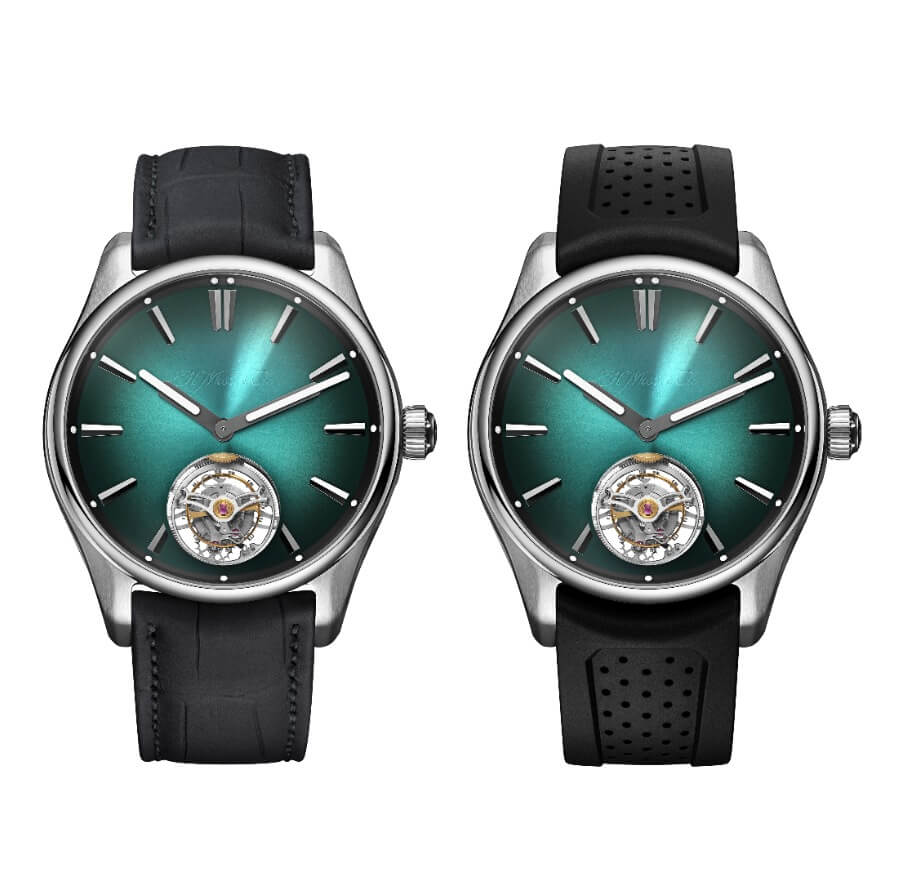 The New H. Moser & Cie. The Pioneer Tourbillon Mega Cool