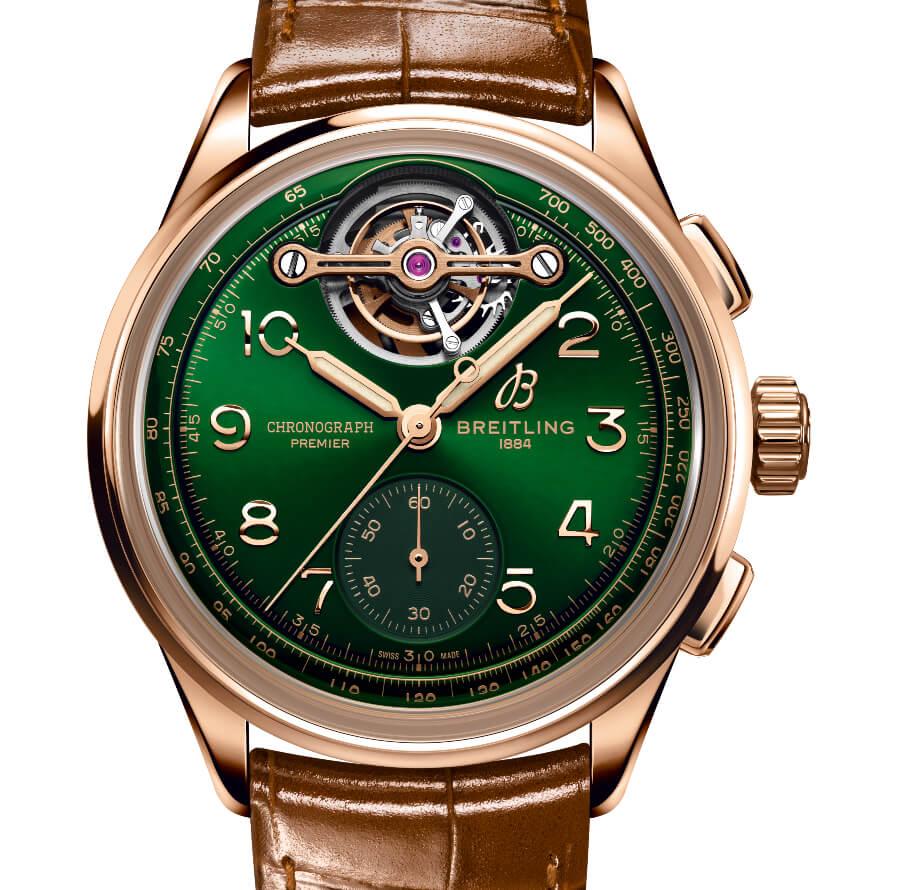 Breitling Premier B21 Chronograph Tourbillon 42 Bentley Limited Edition Watch