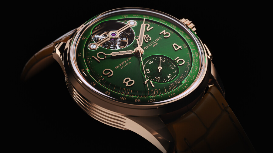 The New Breitling Premier B21 Chronograph Tourbillon 42 Bentley Limited Edition Watch
