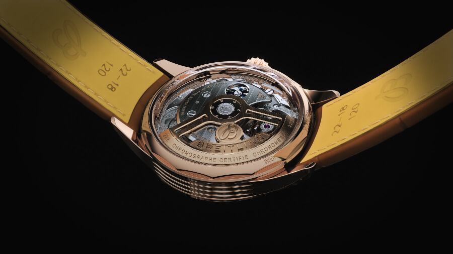 Breitling Premier B21 Chronograph Tourbillon 42 Bentley Limited Edition Reference 34842 InHouse. Movement