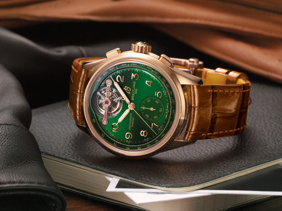 Breitling Premier B21 Chronograph Tourbillon 42 Bentley Limited Edition Watch Review