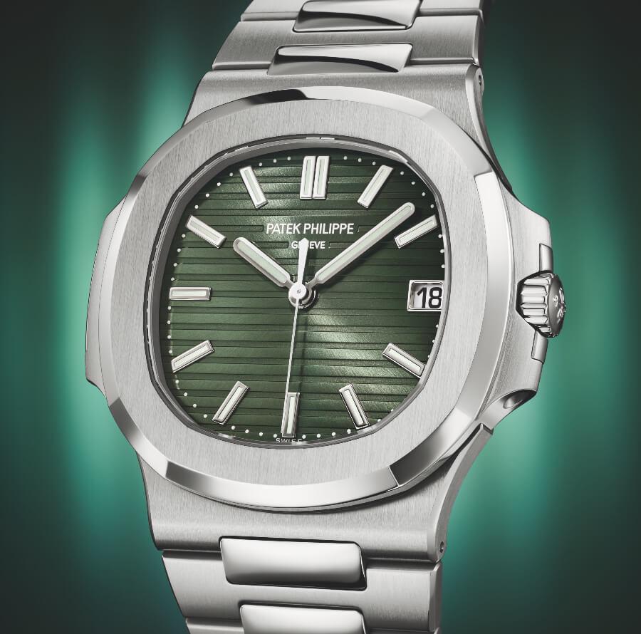 Patek Philippe Nautilus Ref. 5711/1A-014 Green Dial