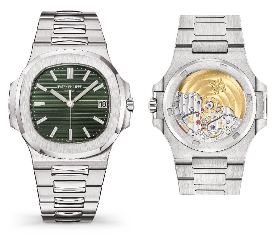 The New Patek Philippe Nautilus Ref. 5711/1A-014 Green Dial