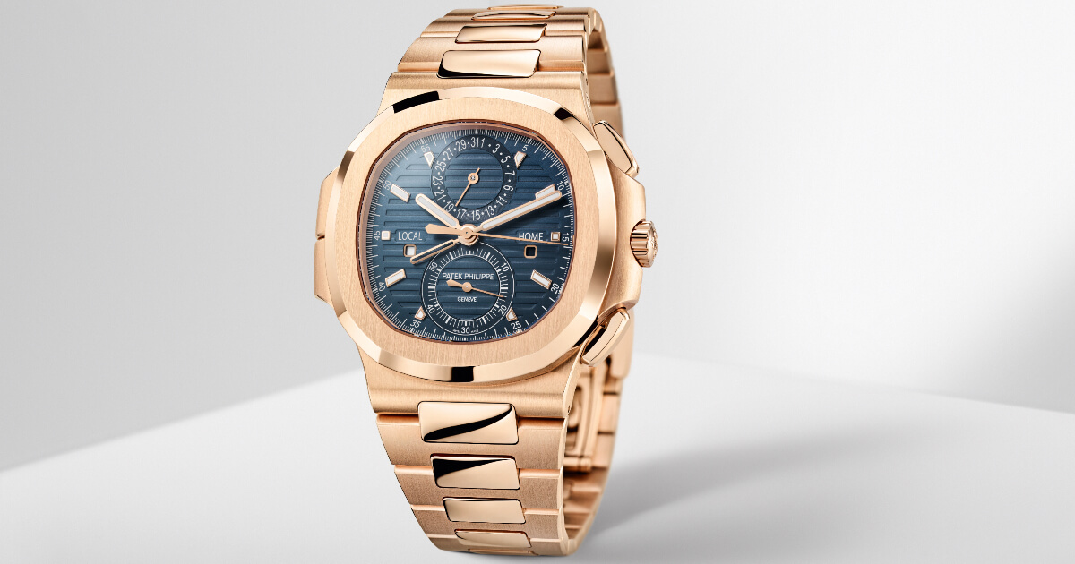 Patek Philippe Ref. 5990/1R-001 Nautilus Travel Time Chronograph Watch (Price, Pictures and Specifications)