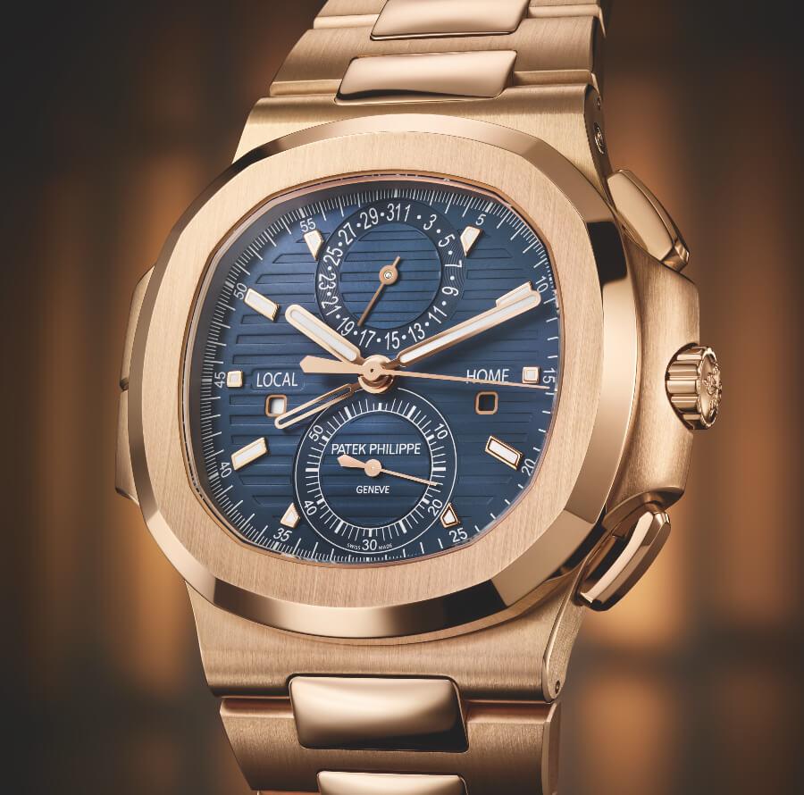 The New Patek Philippe Ref. 5990/1R-001 Nautilus Travel Time Chronograph Watch