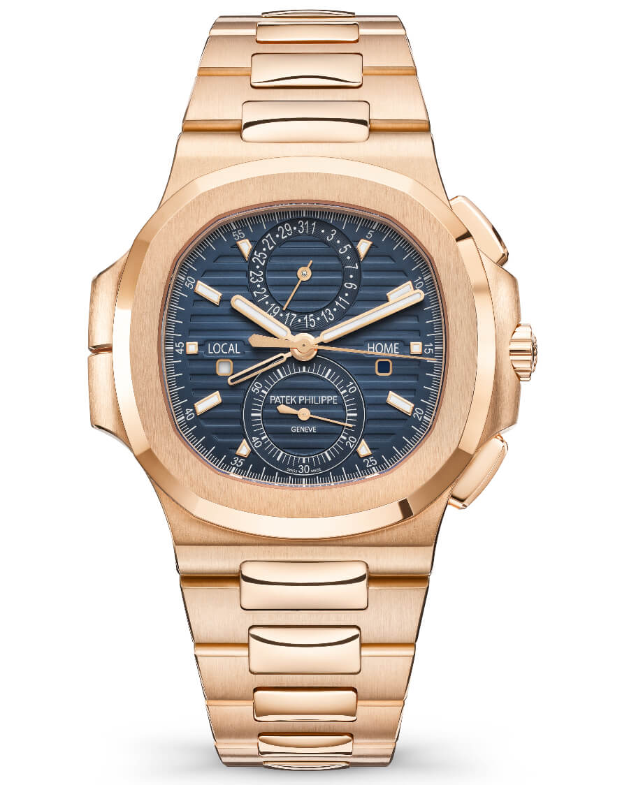 Patek Philippe Ref. 5990/1R-001 Nautilus Travel Time Chronograph Watch Review