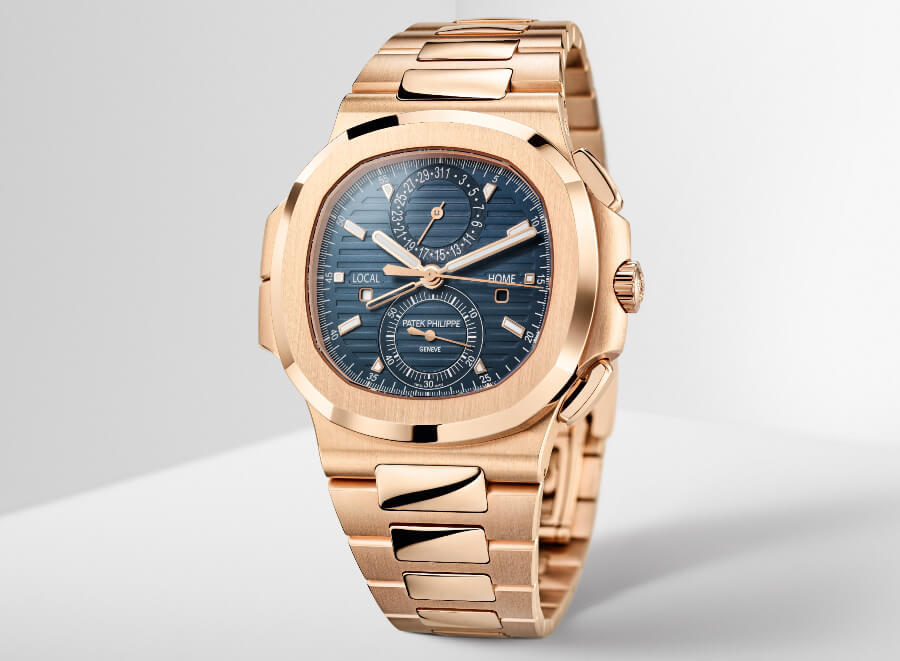 Review Patek Philippe Ref. 5990/1R-001 Nautilus Travel Time Chronograph Watch