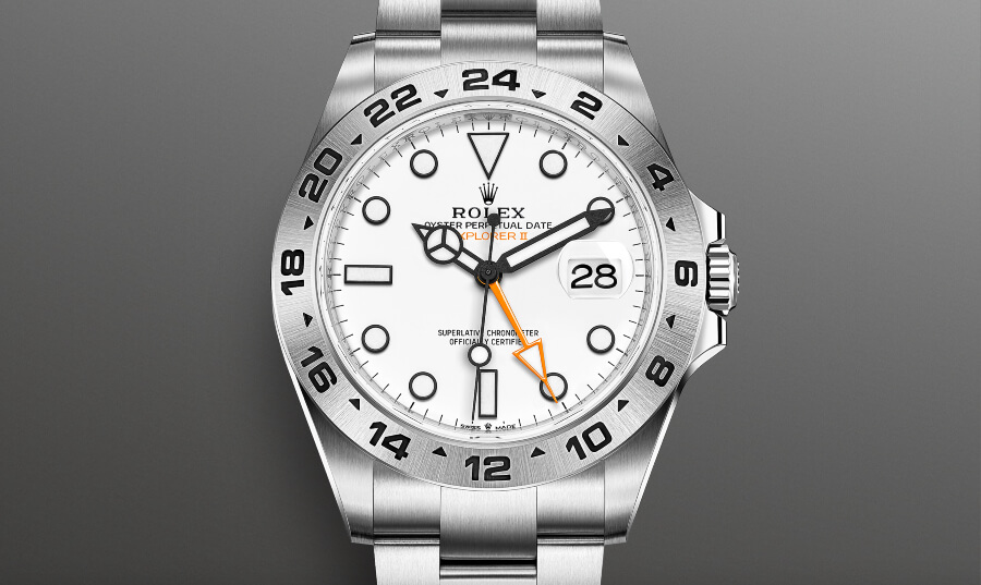 Review Rolex Oyster Perpetual Explorer II