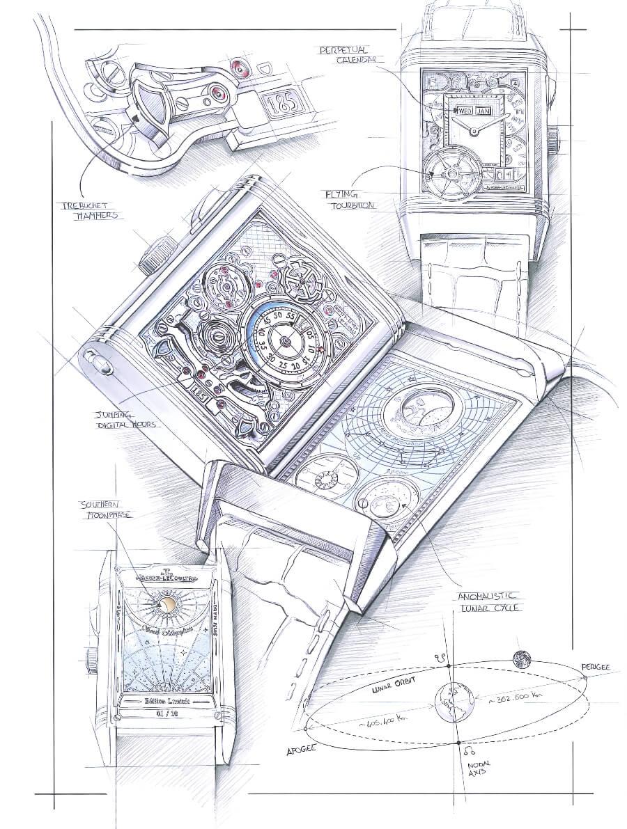 Jaeger-LeCoultre Reverso Hybris Mechanica Calibre 185