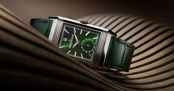 The New Jaeger-LeCoultre Reverso Tribute Small Seconds Green Dial