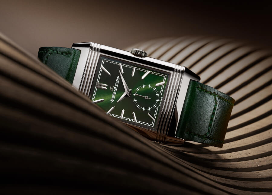 Jaeger-LeCoultre Reverso Tribute Small Seconds In Green  Watch review