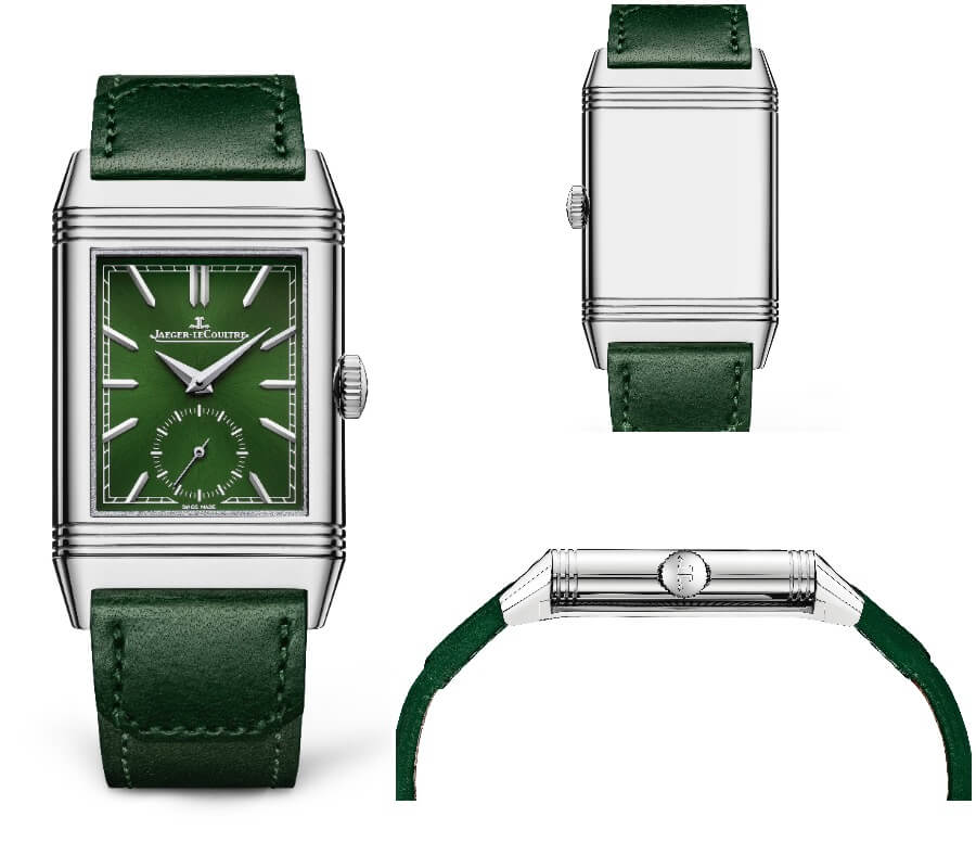 Jaeger-LeCoultre Reverso Tribute Small Seconds Green Dial