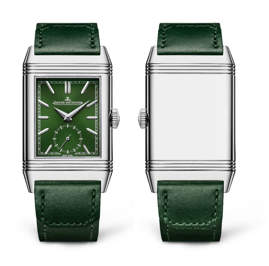 Jaeger-LeCoultre Reverso Tribute Small Seconds Green Dial Review