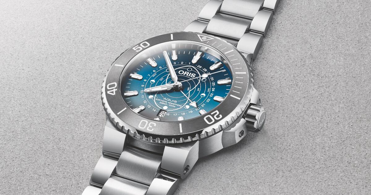 Oris Aquis Dat Watt Limited Edition Watch