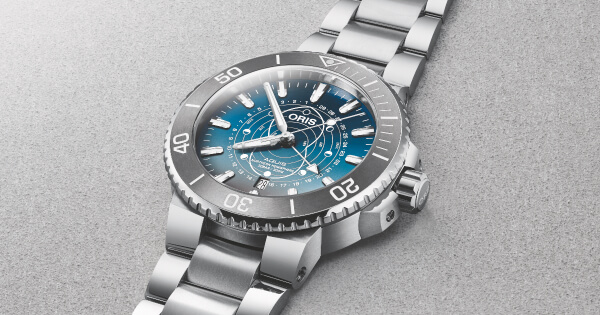 Oris Aquis Dat Watt Limited Edition Watch