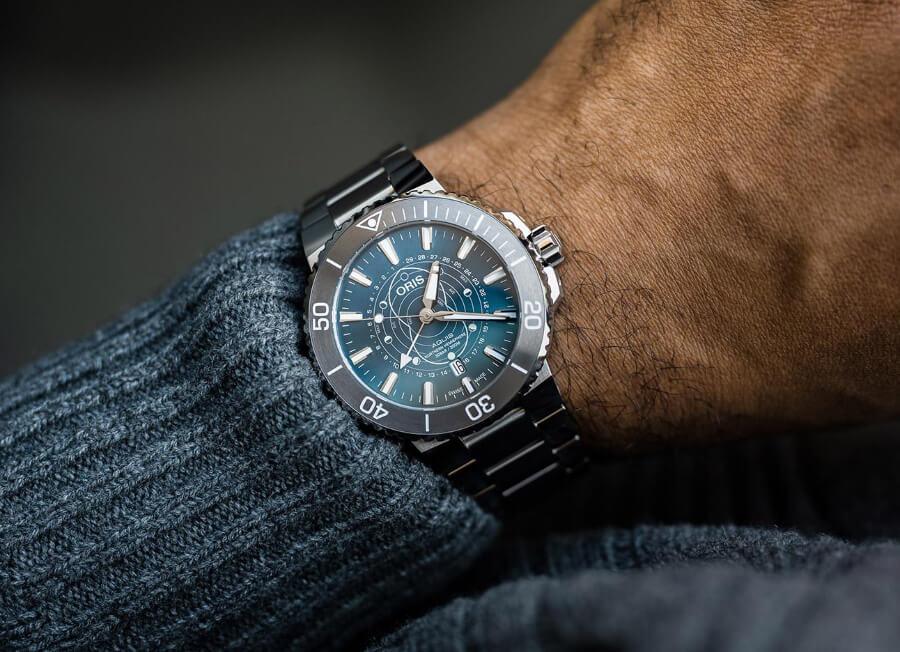 Oris Aquis Dat Watt Limited Edition Watch Review